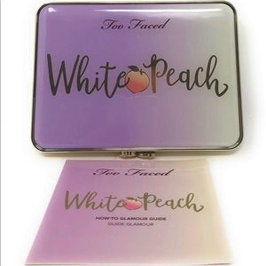 Too Faced White Peach Eye Shadow Palette